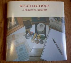 Recollections: A Personal Record